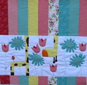 applique quilt pattern giraffe